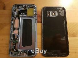 Bloc Complet Ecran LCD Original Samsung Galaxy S7 Noir + Vitre Arièrre