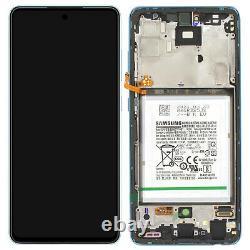 Bloc Complet Samsung Galaxy A52 Écran LCD Vitre Tactile Original Samsung bleu
