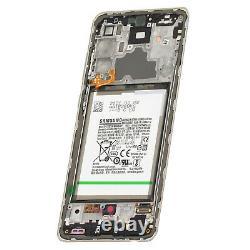 Bloc Complet Samsung Galaxy A72 Écran LCD Vitre Tactile Original Samsung bleu