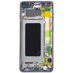 Bloc Complet Samsung Galaxy S10 Plus Écran LCD Vitre Tactile Original noir