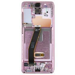 Bloc Complet Samsung Galaxy S20 Écran LCD Vitre Tactile Original rose