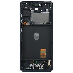 Bloc Complet Samsung Galaxy S20 FE 5G Écran LCD Vitre Tactile Original Bleu nuit