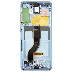 Bloc Complet Samsung Galaxy S20 Plus Écran LCD Vitre Tactile Original bleu