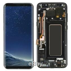 Bloc Ecran Complet LCD Original Samsung Galaxy S8 Noir