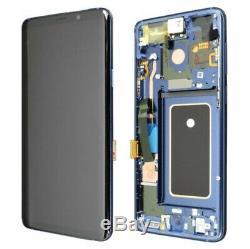Bloc Écran Complet LCD Original Samsung Galaxy S9 Plus Bleu