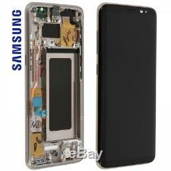Bloc Original Samsung Galaxy S9 Plus Écran LCD + Tactile + Châssis Noir G965