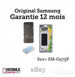 Bloc complet écran LCD samsung galaxy S10 Plus + plus SM-G975F Original