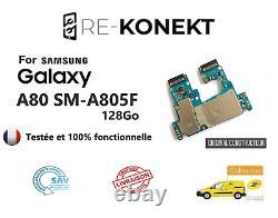 Carte Mère/Motherboard Samsung Galaxy A80 SM-A805F -128 Go -SINGLE -Original
