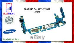 Carte Mère Pour Samsung Galaxy J7 2017 J730f J730 Double Sim 16gb Original