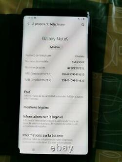 Carte Mère Samsung Galaxy Note 9 N960F 128 Go 100% originale occasion