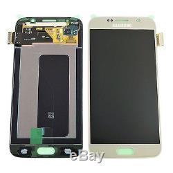 Display Ecran LCD Tactile Ecran Samsung Galaxy S6 G920F Gold Original Amoled