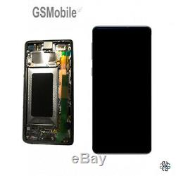 Display Ecran LCD Touch Cadre Ecran Samsung Galaxy S10+G975F Noir Original