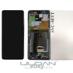 Display LCD Batterie Original Samsung Galaxy S20 Ultra SM-G988 Frame Touch Ner
