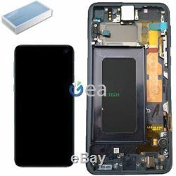 Display LCD Original Samsung Écran Tactile+Frame pour Galaxy S10e G970F Noir