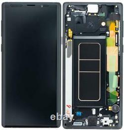Display LCD Original Samsung N960F Galaxy Note 9 Noir Verres Touch Verre Scher