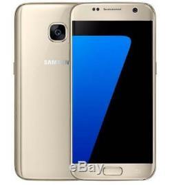 Doré- Original 5.1 Samsung Galaxy S7 G930A Smartphone 4G LTE Téléphone Débloqué