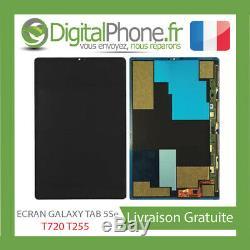 ECRAN LCD ORIGINAL SAMSUNG GALAXY TAB S5e T720 / T255 NOIR GH97-23184A -TVA