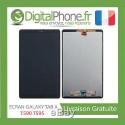 ECRAN LCD ORIGINAL SAMSUNG GALAXY Tab A T590 / T595 2019 NOIR -TVA