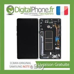 ECRAN LCD ORIGINAL Samsung Galaxy Note 8 NOIR GH97-21065A -TVA