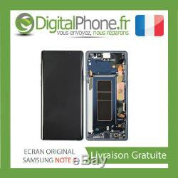 ECRAN LCD ORIGINAL Samsung Galaxy Note 9 BLEU GH97-22270B -TVA