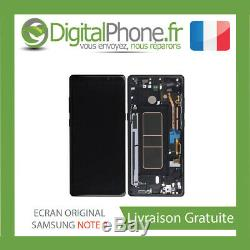 ECRAN LCD ORIGINAL Samsung Galaxy Note 9 Black GH97-22270A -TVA