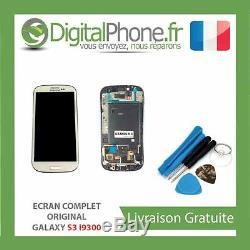 ECRAN ORIGINAL SAMSUNG Galaxy S3 i9300 BLANC GH97-13630B + Outils AVEC TVA