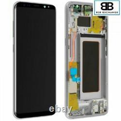 Écran Complet Châssis ARGENT Samsung Galaxy S8 Plus G955F Original Pack Service