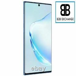 Écran Complet Châssis BLEU Samsung Galaxy Note 10 Plus N975F Original ServicePac