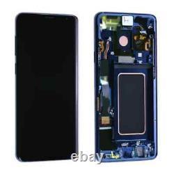 Ecran Complet & Châssis BLEU Samsung Galaxy S9 Plus G965F Original Pack Service
