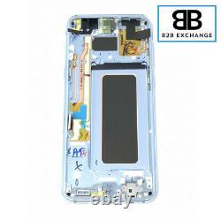Écran Complet Châssis Bleu Original Samsung Galaxy S8 PLUS G955F Pack Service