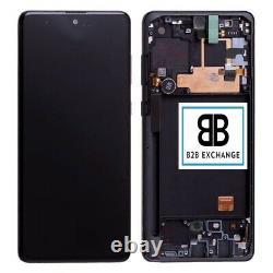 Écran Complet Châssis NOIR Samsung Galaxy Note 10 Lite N770F Original ServicePac