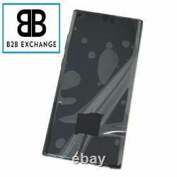 Écran Complet Châssis NOIR Samsung Galaxy Note 10 Plus N975F Original ServicePac