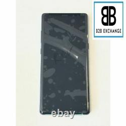 Écran Complet +Châssis NOIR Samsung Galaxy Note 8 N950F Original Pack Service