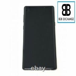 Écran Complet +Châssis NOIR Samsung Galaxy Note 9 N960F Original PackService
