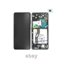 Ecran Complet Châssis NOIR Samsung Galaxy S21 Ultra 5G G998B Original PackServic