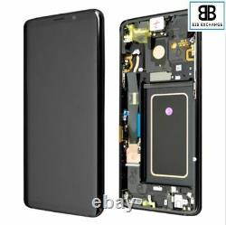 Écran Complet Châssis NOIR Samsung Galaxy S9 PLUS G965F Original Pack Service