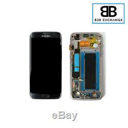 Écran Complet Châssis NOIR service pack Samsung Galaxy S7 Edge G935F Original