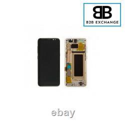 Écran Complet Châssis OR Samsung Galaxy S8 PLUS G955F DORÉ Original PackService