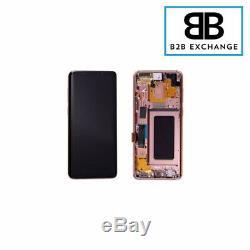Écran Complet Châssis OR Samsung Galaxy S9 PLUS G965F DORÉ Original Pack Service