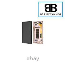 Écran Complet Châssis Original DORÉ OR Samsung Galaxy Note 9 N960F Service Pack