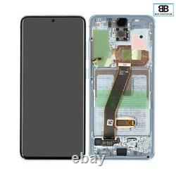 Écran Complet Châssis Samsung Galaxy S20 BLEU G980F/G981B Original PackService