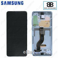 Écran Complet Châssis Samsung Galaxy S20 Plus G985F/G986B BLEU Original PackServ