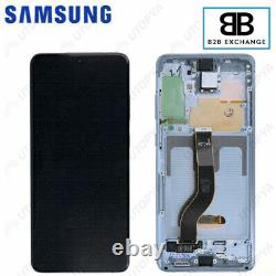 Écran Complet Châssis Samsung Galaxy S20 Plus G985F/G986F GRIS Original PackServ
