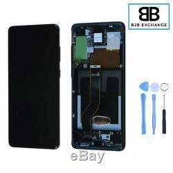 Écran Complet Châssis Samsung Galaxy S20 Plus G985F/G986F NOIR Original PackServ