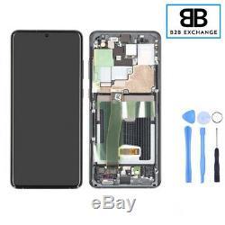 Écran Complet Châssis Samsung Galaxy S20 Ultra G988F/G988B Gris Original PackSer