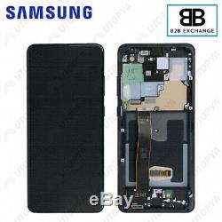 Écran Complet Châssis Samsung Galaxy S20 Ultra G988F/G988B NOIR Original PackSer