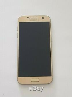 Ecran Complet LCD+Tactile + Cadre Samsung Galaxy S7 SM-G930F Doré Original