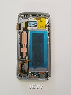 Ecran Complet LCD+Tactile + Cadre Samsung Galaxy S7 SM-G930F Noir Original