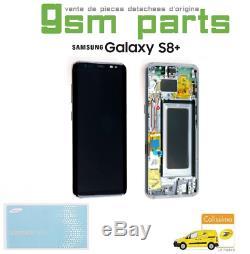 Ecran Complet Original Argent Polaire Samsung Galaxy S8+ (G955F) SERVICE PACK