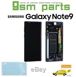 Ecran Complet Original Noir Samsung Galaxy Note 9 (N960F) SERVICE PACK